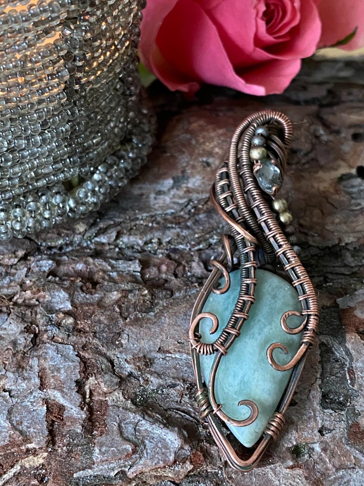 unieke, handgemaakte sieraden met edelsteen
